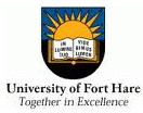 Fort Hare logo